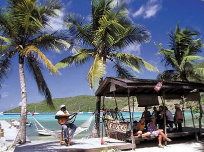 Foxy's Tamarind Restaurant and Bar Jost Van Dyke  British Virgin Islands