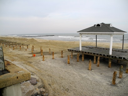 Avon jetty beach Avon By The Sea New Jersey United States