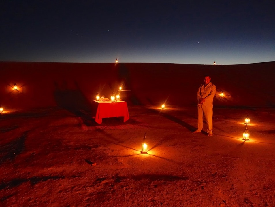 YOUR OWN PRIVATE TENT CAMP IN THE SAHARA Tata  Morocco