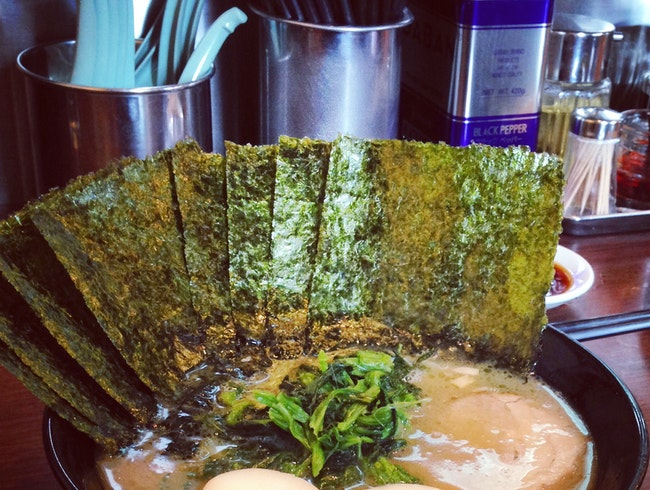 An abundance of nori