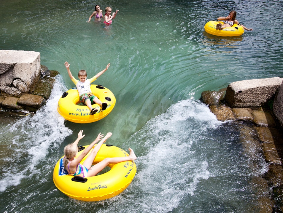 Lazy River New Braunfels Texas United States