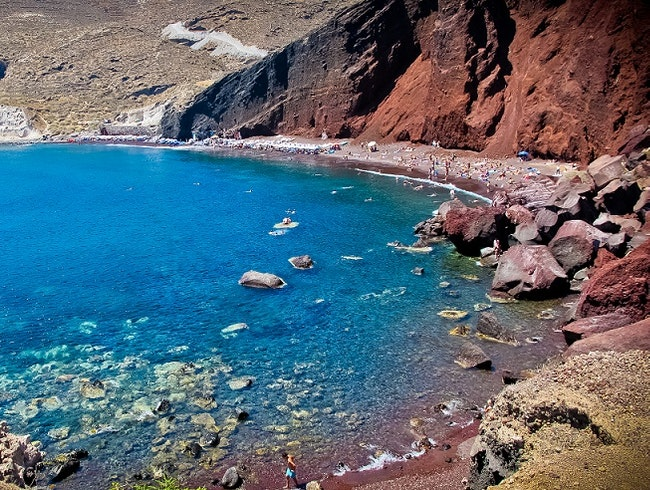 The Red Beach -  Santorini, Greece