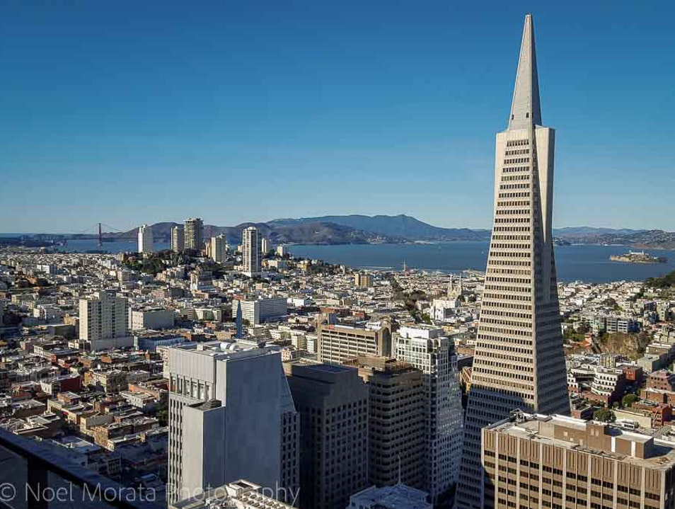 Fabulous views of San Francisco from above San Francisco California United States