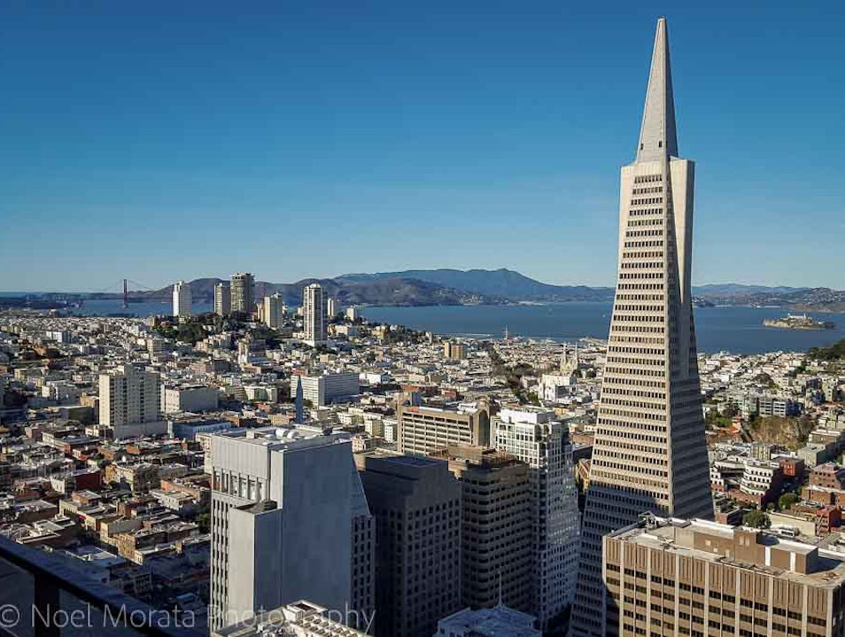 Fabulous views of San Francisco from above