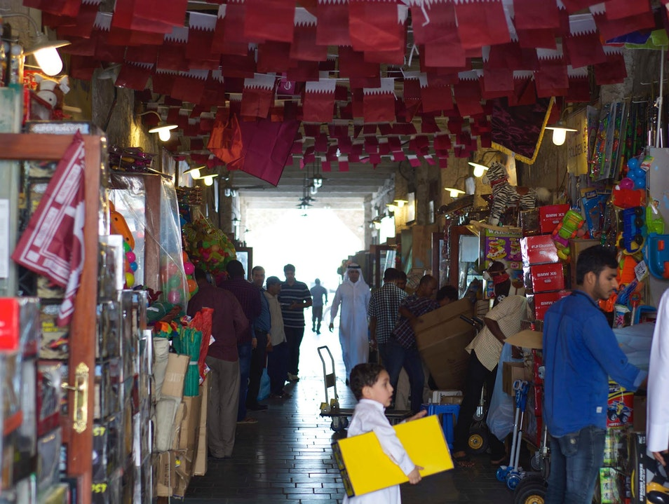 Stay, Eat, Shop, Bargain at Souq Waqif