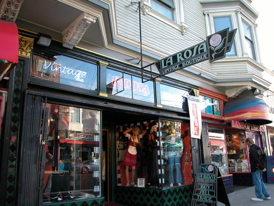 Shop for Retro Vintage at La Rosa in the Haight