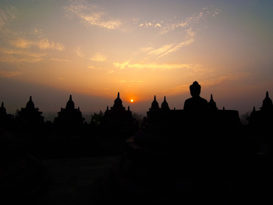 Enlightenment Borobudur  Indonesia