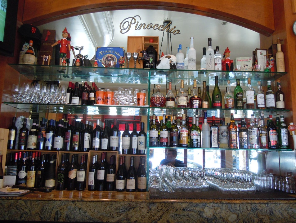 Little Italy: Pinocchio Italian Trattoria San Francisco California United States