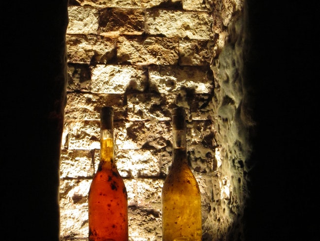 Wine Cave in Tokaj, Hungary
