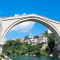 Mostar Old Bridge Mostar  Bosnia and Herzegovina