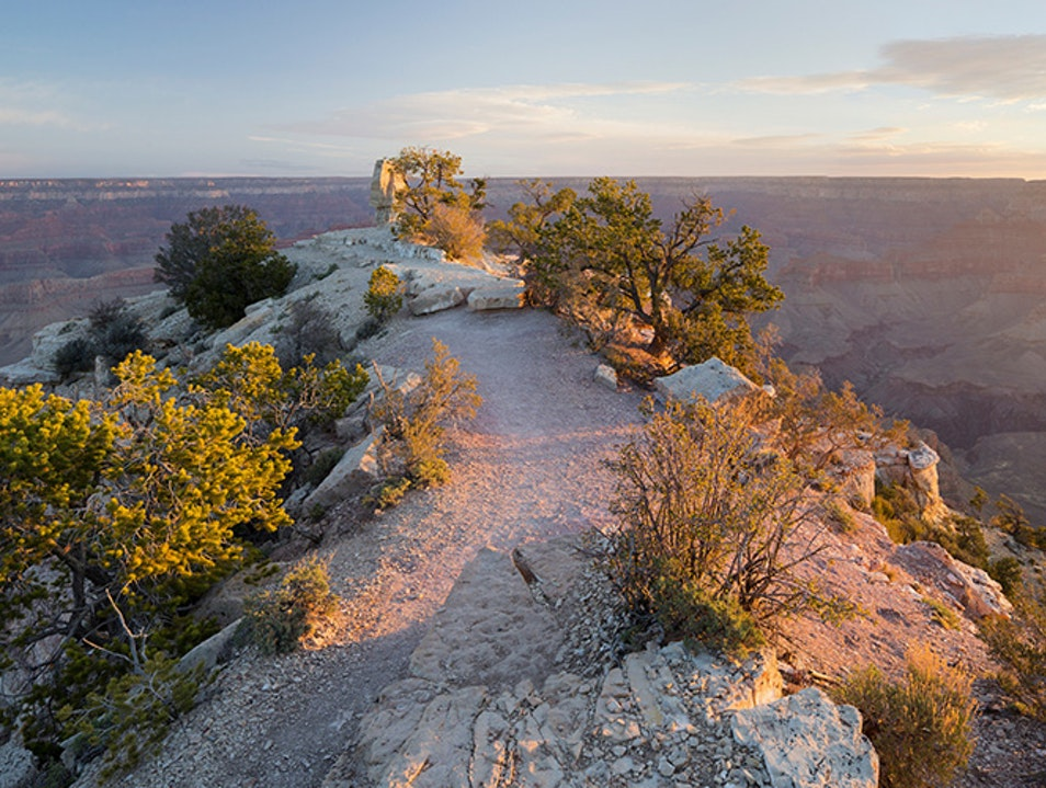 An Easy Hike with Incredible Views on the South Rim Grand Canyon Village Arizona United States