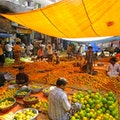 Mechhua Fruit Market Kolkata  India