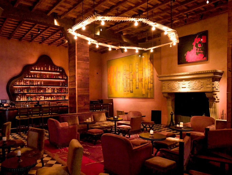 The Rose Bar at Gramercy Park Hotel New York New York United States