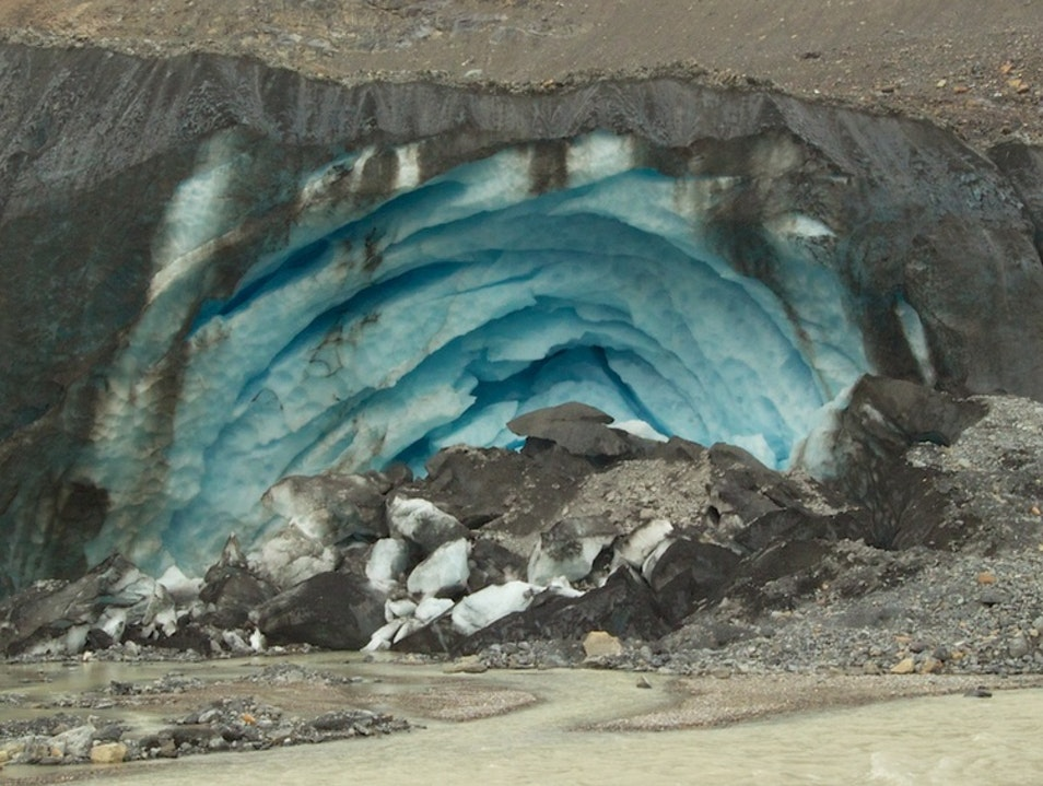Up Close & Personal with the Athabasca Glacier