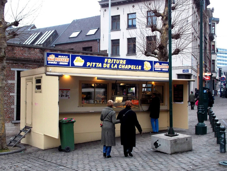 Friterie with a Twist Brussels  Belgium