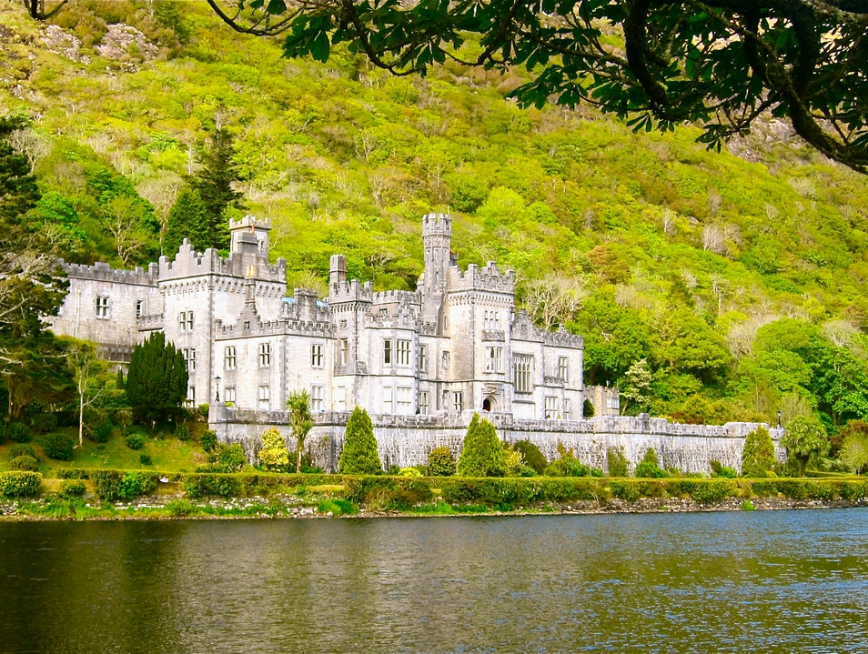 Stroll Around Kylemore Abbey and the Alluring Gardens Renvyle  Ireland
