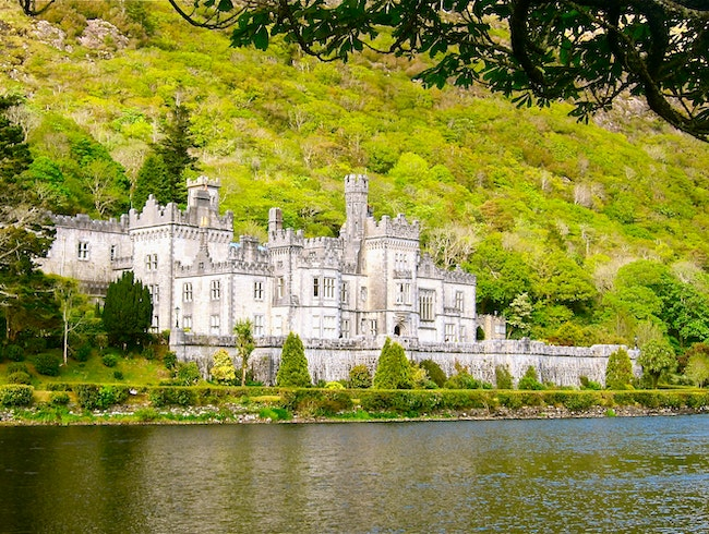 Stroll Around Kylemore Abbey and the Alluring Gardens