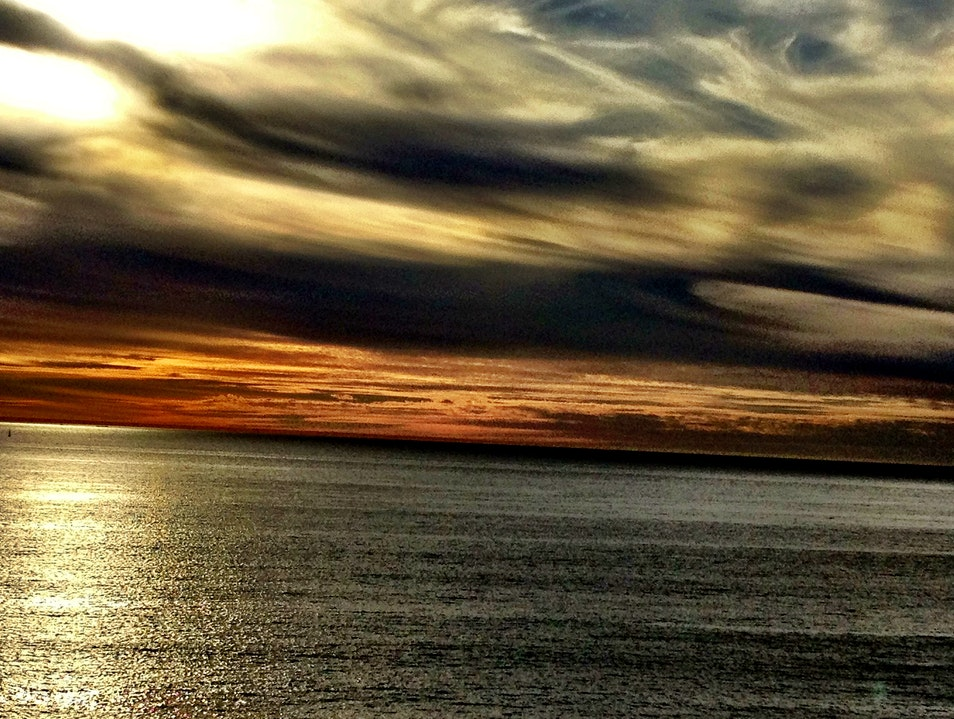 Enjoying the spectacular clouds over the pacific in Rancho Palos Verdes Rancho Palos Verdes California United States