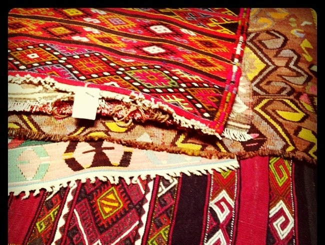 Hunting for Kilims in Istanbul