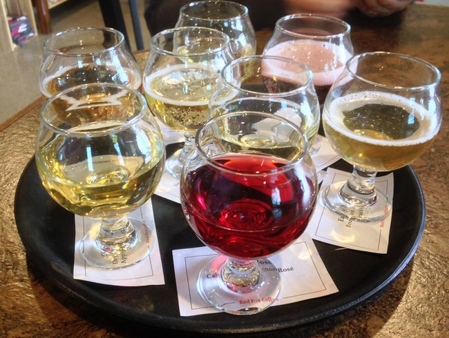 Sample a Flight of Hard Ciders