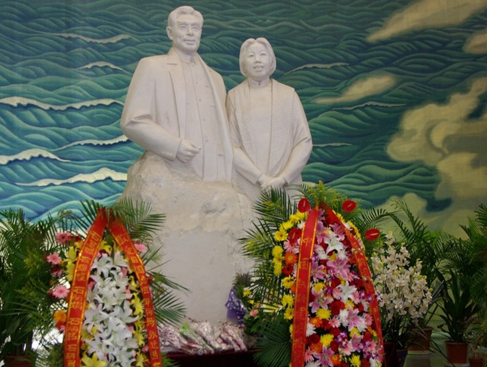 A Memorial to Zhou Enlai, Tianjin's Political Icon