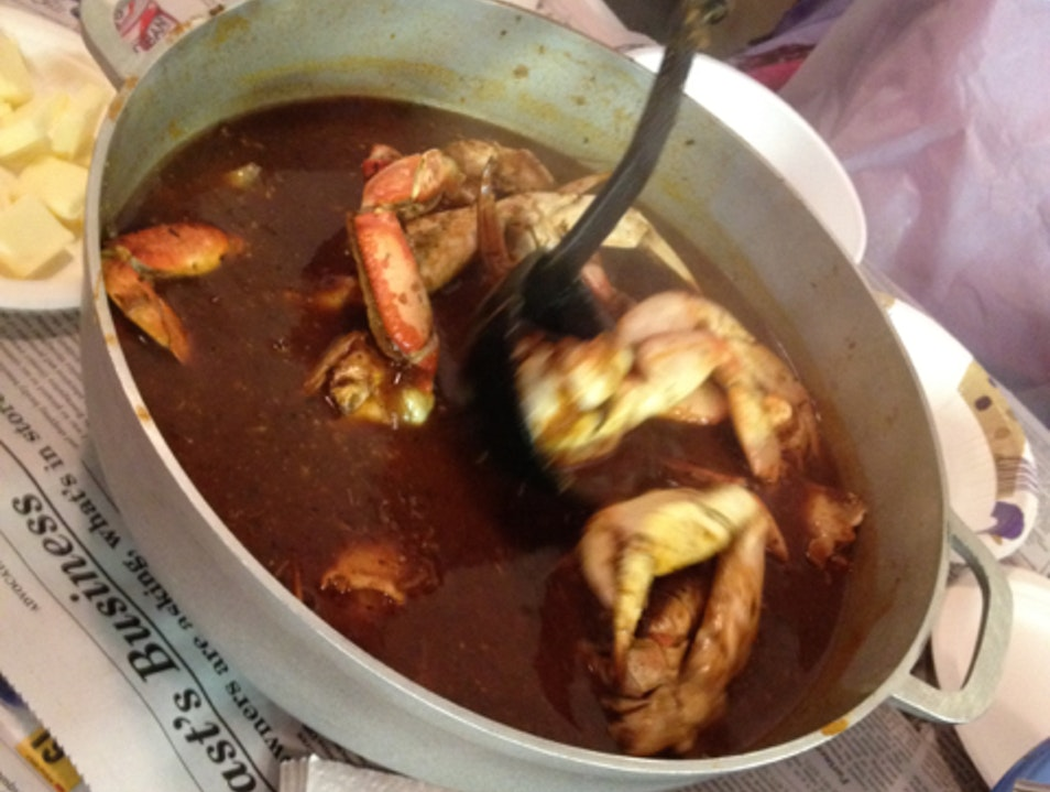 Cioppino Dinner Fort Bragg California United States