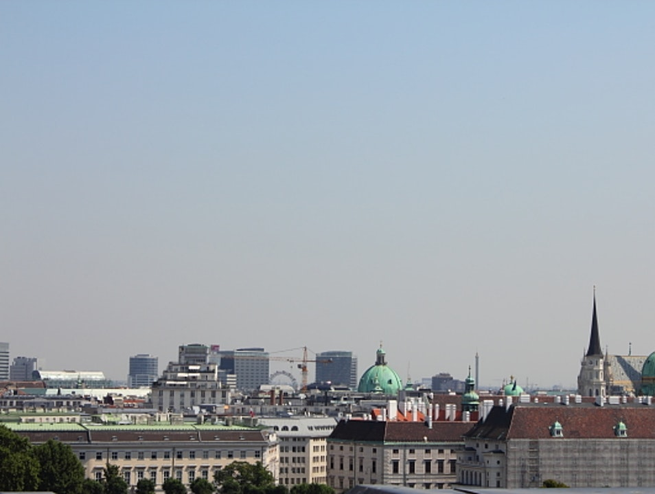Legal Vienna View From Palace of Justice Vienna  Austria