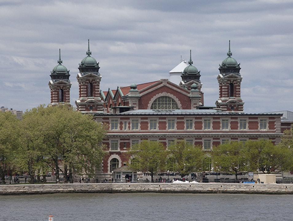 Ellis Island And The Immigration Museum New York United States New York Afar