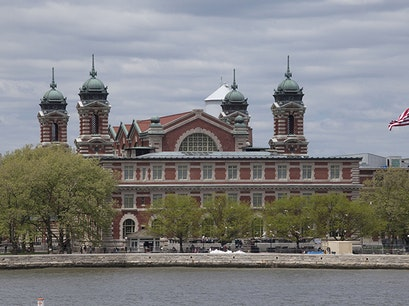 Ellis Island and the Immigration Museum New York New York United States