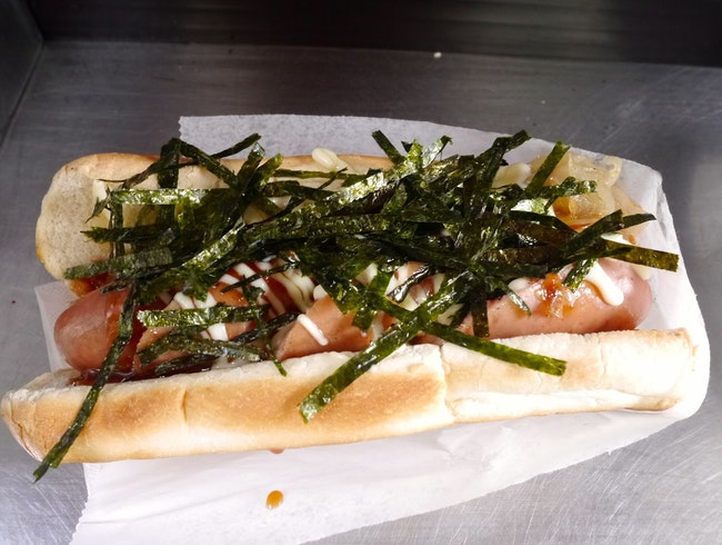 Vancouver's Famous Japanese-Style Hot Dogs