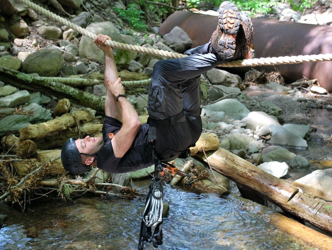 Surviving at the Bear Grylls Survival Academy