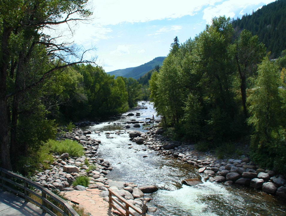 A Natural Whitewater Park Avon Colorado United States