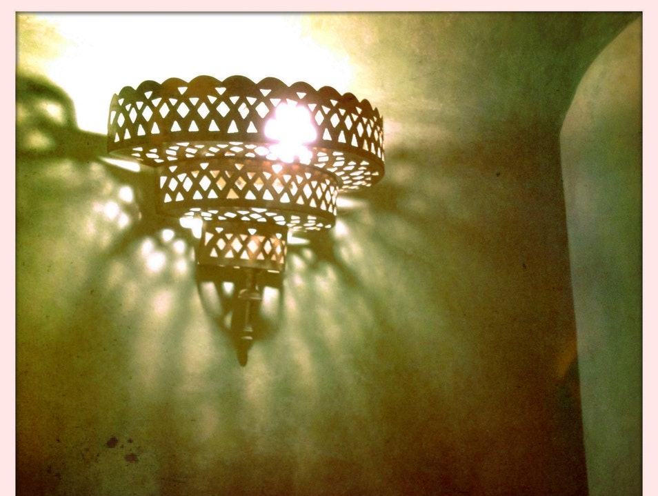 Moroccan Light Marrakech  Morocco