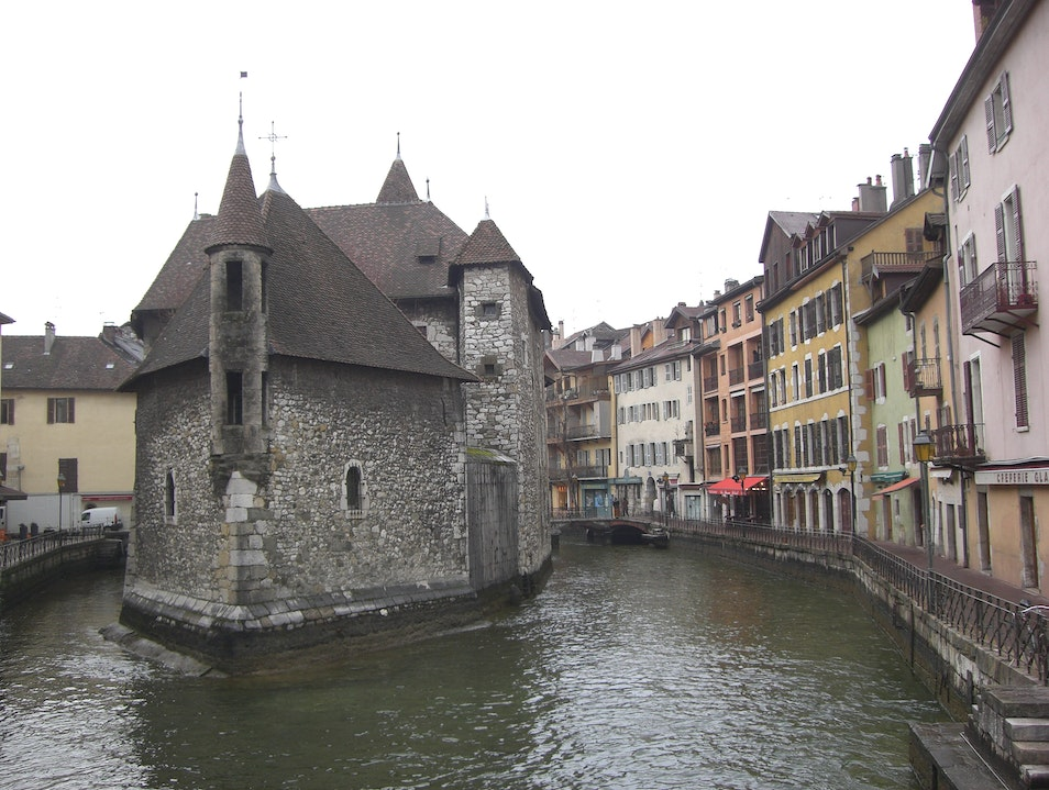 Thiou River through Annecy, France Annecy  France