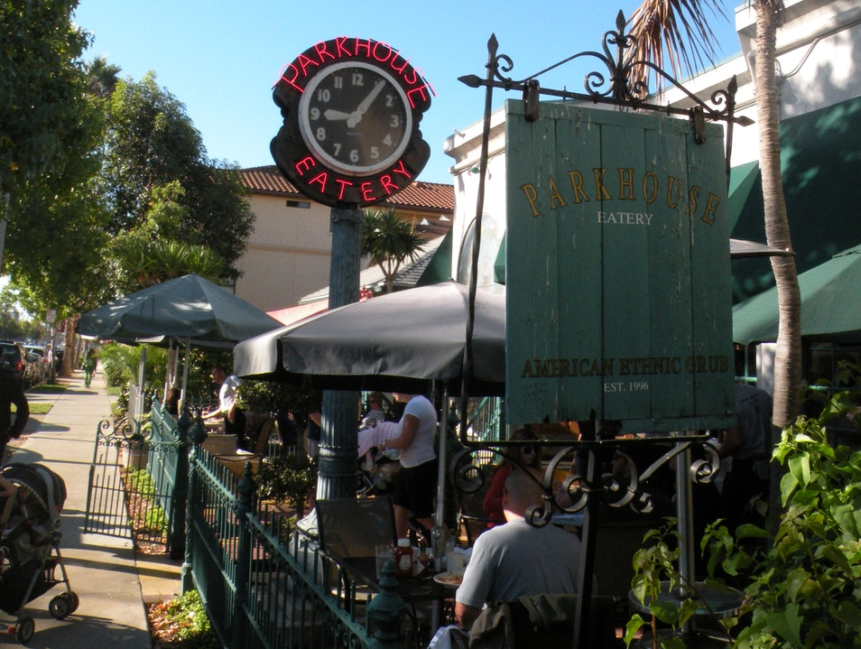 Great American cafe for breakfast, lunch or dinner San Diego California United States