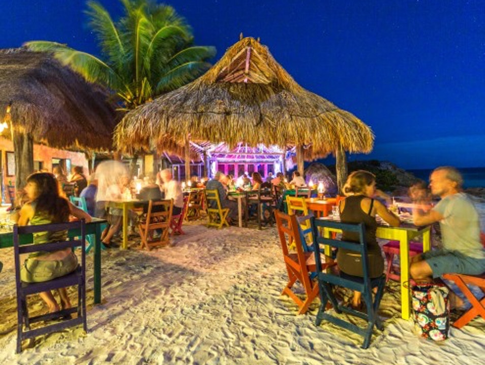Candlelit Dinner at Zamas  Quintana Roo  Mexico