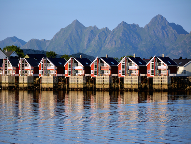 Svolvaer, Lofoten Islands