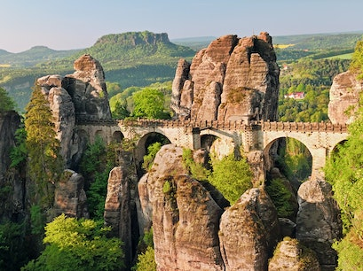 Bastei Bridge Lohmen  Germany