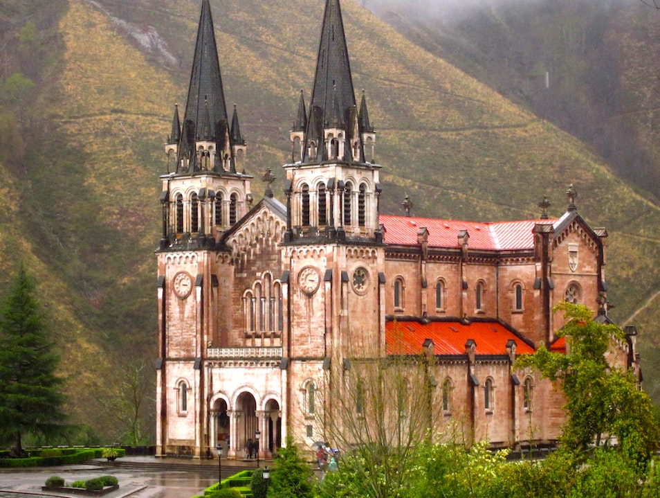 Among the clouds in Covadonga! Covadonga  Spain