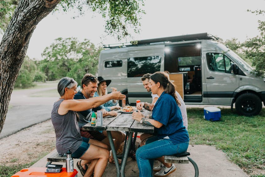 A campervan is the RV of choice for many.