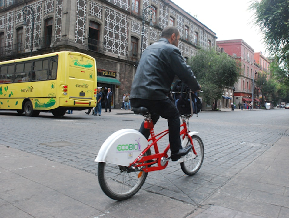 Mexico City Ecobici Bike Share: Best Way to Explore Downtown D.F. Mexico City  Mexico