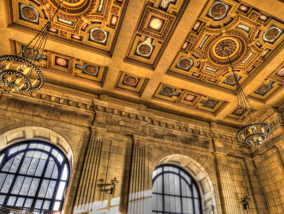 Grand Hall of Union Station in Kansas City