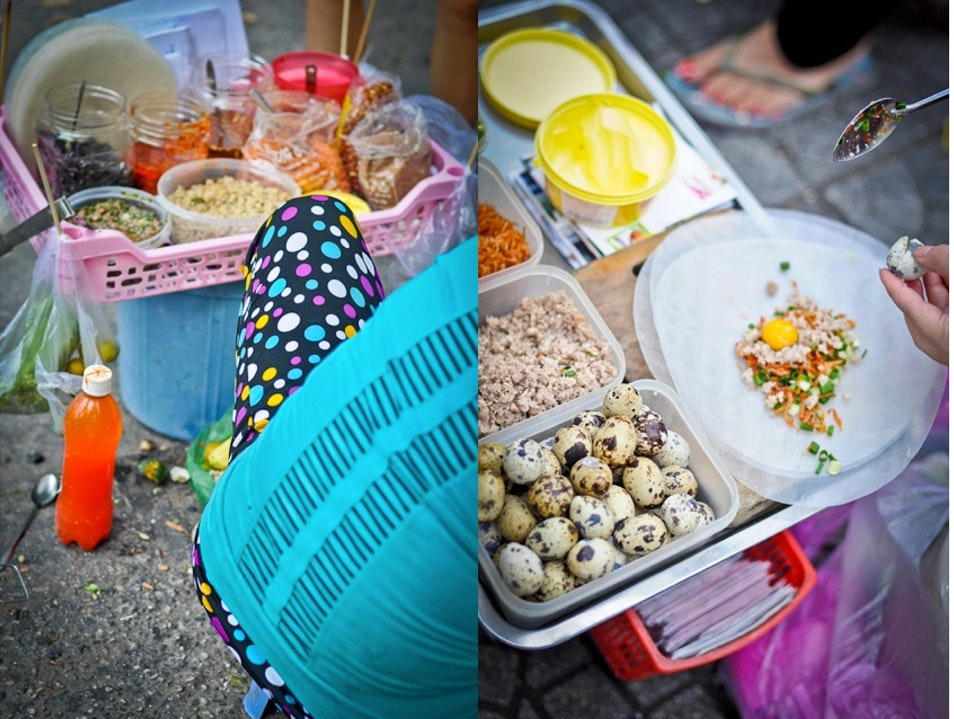 Street Food in Ho Chi Minh  Ho Chi Minh City  Vietnam