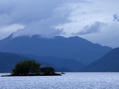 Loch Lomond Luss  United Kingdom
