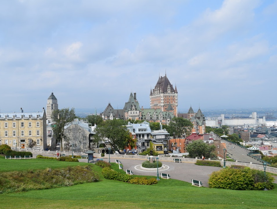 Picnic in the Park Quebec City  Canada