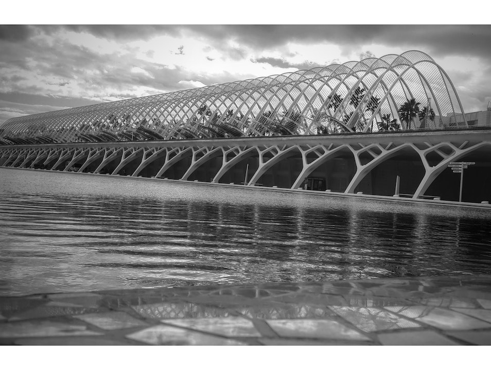 Stunning Architectural Design Valencia  Spain