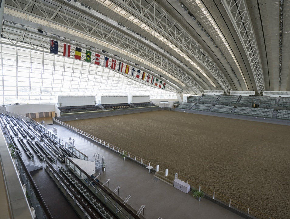 Al Shaqab – A World Class Equestrian Center  Rayyan  Qatar