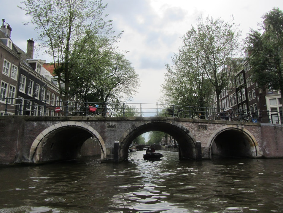 Amsterdam by canal