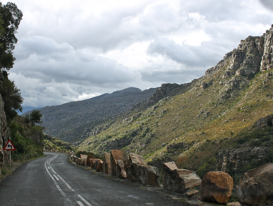 Take the Scenic Route with Bainskloof Pass Bain`s Kloof Pass  South Africa