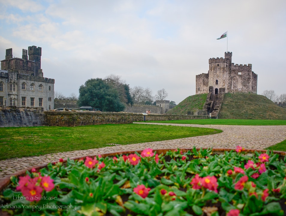 The Norman Keep Cardiff  United Kingdom